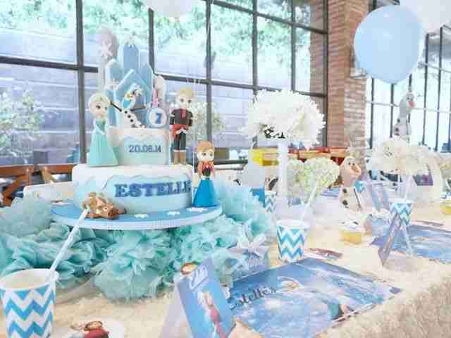 Ideas to Celebrate a Frozen Disney birthday party