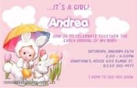 baby shower invitations is a girl